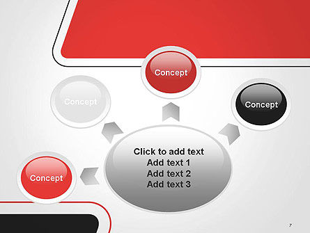 Rounded Shapes PowerPoint Template Slide 7