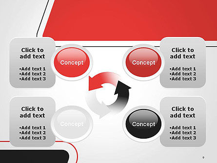 Rounded Shapes PowerPoint Template Slide 9