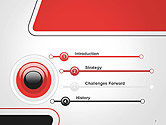 Rounded Shapes PowerPoint Template#3