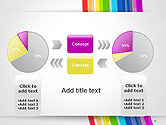 Bright Abstract Rainbow Swoosh Lines PowerPoint Template#16