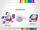 Bright Abstract Rainbow Swoosh Lines PowerPoint Template#17