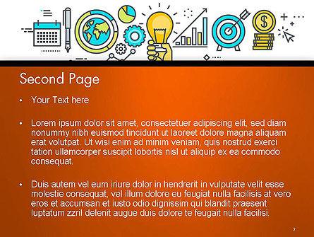 Business Process Workflow PowerPoint Template, Slide 2, 14593, Business Concepts — PoweredTemplate.com