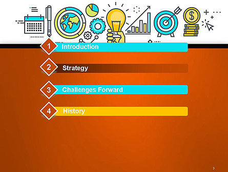 Business Process Workflow PowerPoint Template, Slide 3, 14593, Business Concepts — PoweredTemplate.com