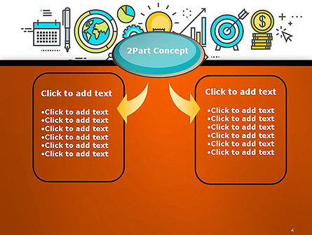 Business Process Workflow PowerPoint Template, Slide 4, 14593, Business Concepts — PoweredTemplate.com