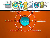 Business Process Workflow PowerPoint Template#7
