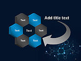 Connected Hexagons PowerPoint Template#11