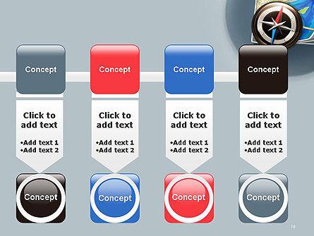 Navigation Map PowerPoint Template Slide 18
