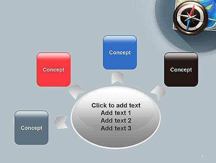 Navigation Map PowerPoint Template Slide 7