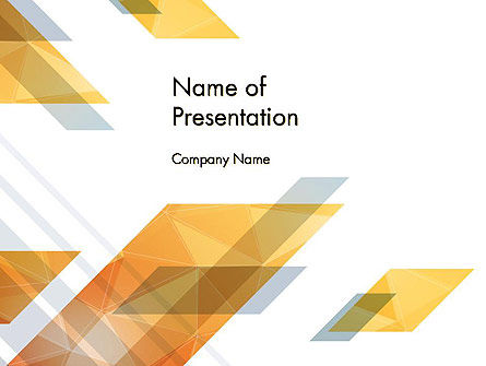 Abstract/Textures: Transparent Square Shapes PowerPoint Template #14596