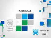 Abstract Overlap Squares PowerPoint Template#16