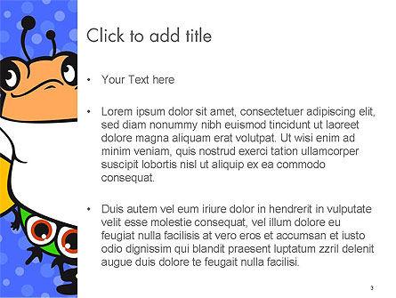 Cute Monsters PowerPoint Template, Slide 3, 14599, Education & Training — PoweredTemplate.com