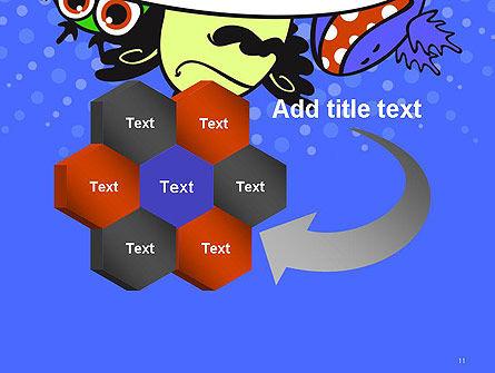 Cute Monsters PowerPoint Template Slide 11
