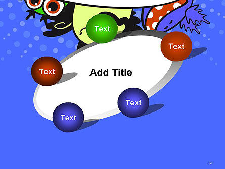 Cute Monsters PowerPoint Template Slide 14