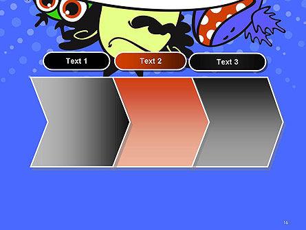 Cute Monsters PowerPoint Template Slide 16