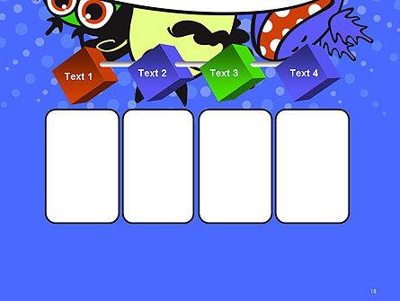 Cute Monsters PowerPoint Template Slide 18