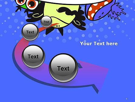 Cute Monsters PowerPoint Template Slide 6
