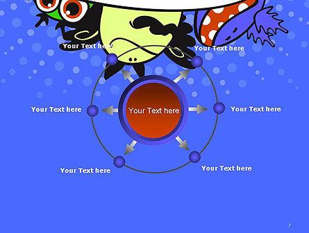 Cute Monsters PowerPoint Template Slide 7