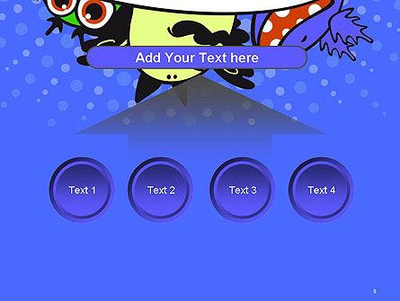 Cute Monsters PowerPoint Template Slide 8