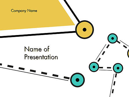 Hings and Counterweights Abstract PowerPoint Template