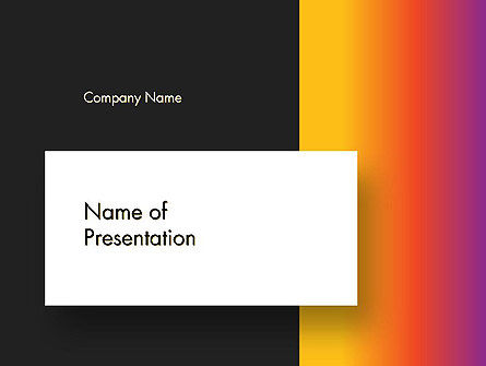 Abstract Gradient Background PowerPoint Template, 14602, Abstract/Textures — PoweredTemplate.com