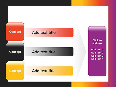 Abstract Gradient Background PowerPoint Template Slide 12