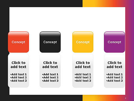 Abstract Gradient Background PowerPoint Template Slide 5