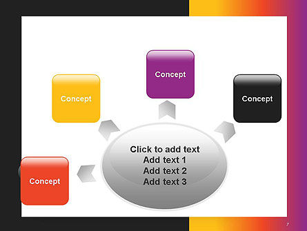 Abstract Gradient Background PowerPoint Template Slide 7