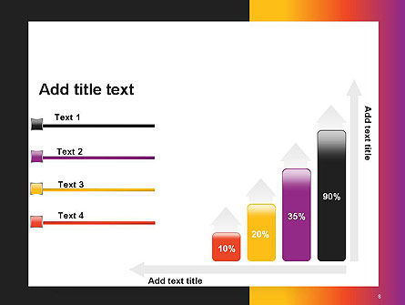 Abstract Gradient Background PowerPoint Template Slide 8