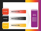 Abstract Gradient Background PowerPoint Template#12