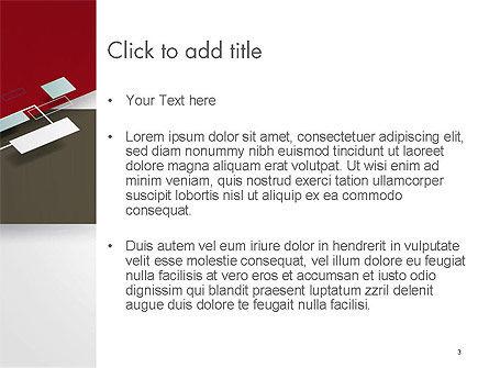 Flat Diagonal Shapes PowerPoint Template, Slide 3, 14603, Abstract/Textures — PoweredTemplate.com