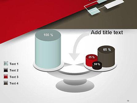 Flat Diagonal Shapes PowerPoint Template Slide 10