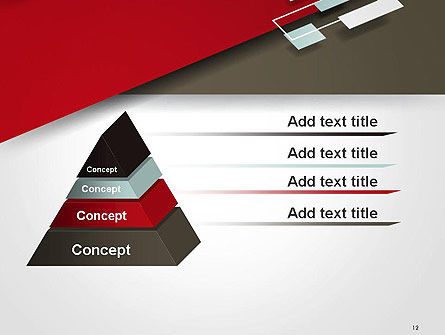 Flat Diagonal Shapes PowerPoint Template Slide 12