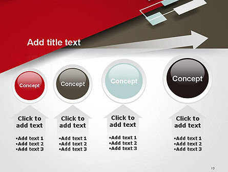 Flat Diagonal Shapes PowerPoint Template Slide 13