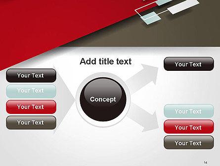 Flat Diagonal Shapes PowerPoint Template Slide 14