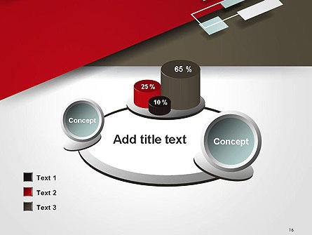 Flat Diagonal Shapes PowerPoint Template Slide 16