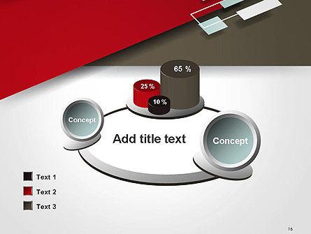 Flat Diagonal Shapes PowerPoint Template Slide 16