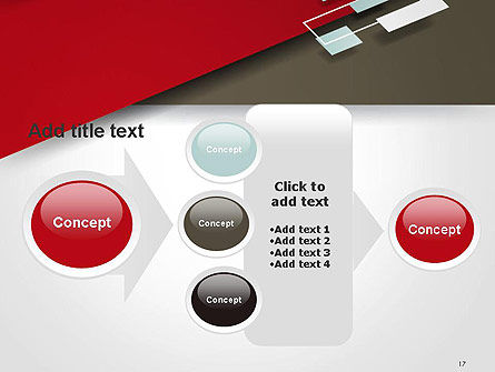 Flat Diagonal Shapes PowerPoint Template Slide 17