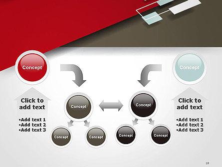 Flat Diagonal Shapes PowerPoint Template Slide 19