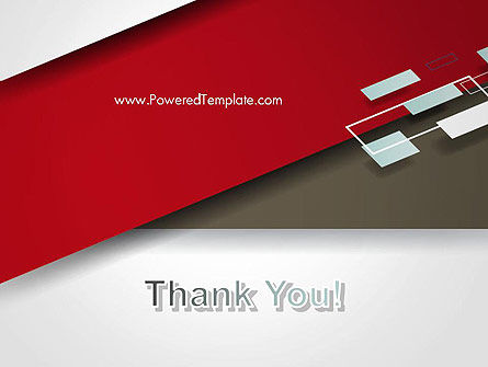 Flat Diagonal Shapes PowerPoint Template Slide 20