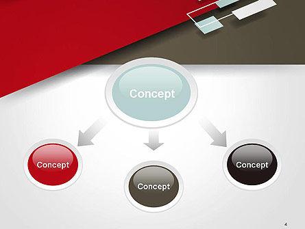Flat Diagonal Shapes PowerPoint Template, Slide 4, 14603, Abstract/Textures — PoweredTemplate.com