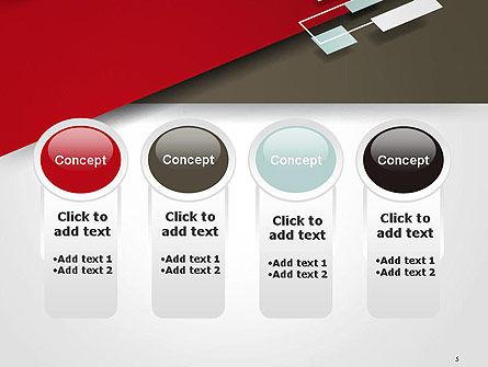 Flat Diagonal Shapes PowerPoint Template Slide 5