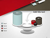 Flat Diagonal Shapes PowerPoint Template#10