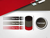 Flat Diagonal Shapes PowerPoint Template#11