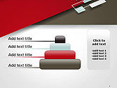 Flat Diagonal Shapes PowerPoint Template#8