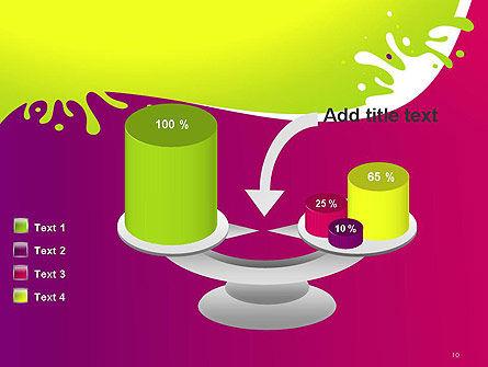 Colorful Splash PowerPoint Template Slide 10