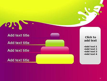 Colorful Splash PowerPoint Template Slide 8
