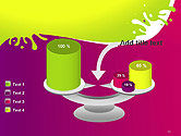 Colorful Splash PowerPoint Template#10