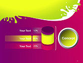 Colorful Splash PowerPoint Template#11