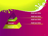 Colorful Splash PowerPoint Template#12