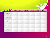 Colorful Splash PowerPoint Template#15